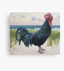 """""""Off Duty ( Rooster 3)"""" Canvas Print"""