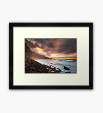 Apocalyptic Skies Framed Print