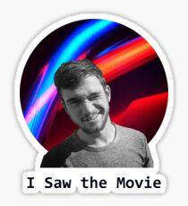 I Saw the Movie Sticker