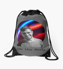 I Saw the Movie Drawstring Bag