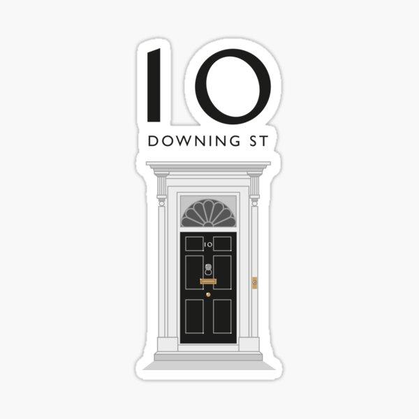 No.10 Downing Street Sticker