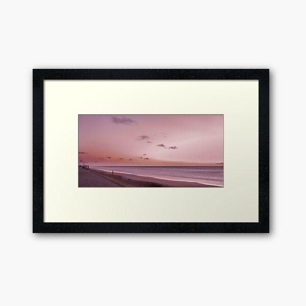 Pink Dawn Framed Art Print