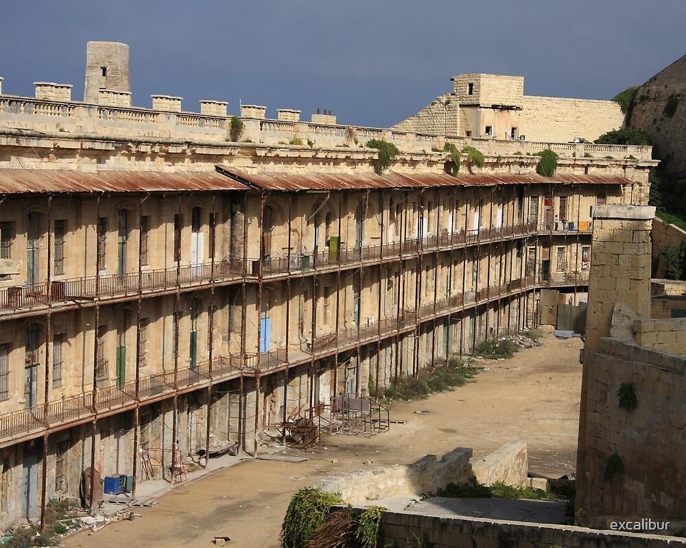St.Elmo barracks, Valletta, Malta by excalibur