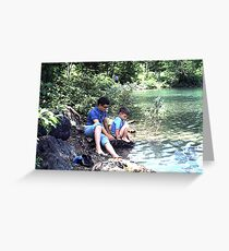 Blue Pond, Newfoundland Greeting Card