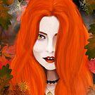 Autumn Witch by Rowan  Lewgalon
