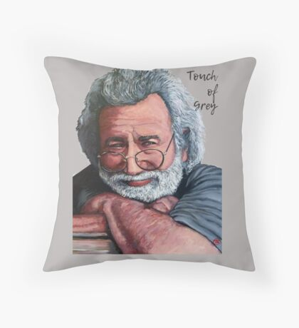 Touch of Grey Throw Pillow