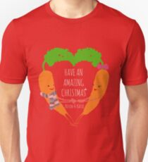 Kevin And Katie The Carrot Christmas Unisex T-Shirt