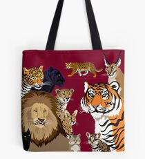 I Am Thankful For Felidae Tote Bag