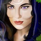 Morgan le Fay by Rowan  Lewgalon