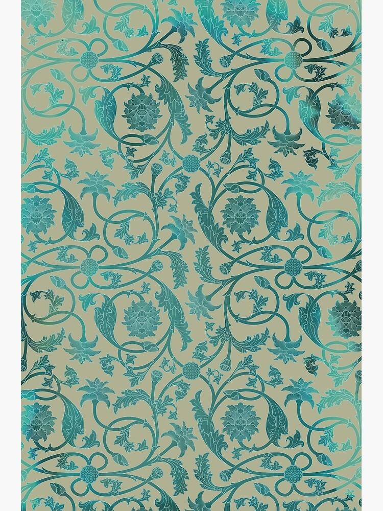 Blue Lotus Pattern  by Thoth-Adan