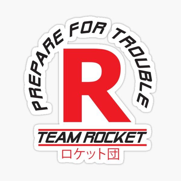 Team Rocket - Pokemon Sticker