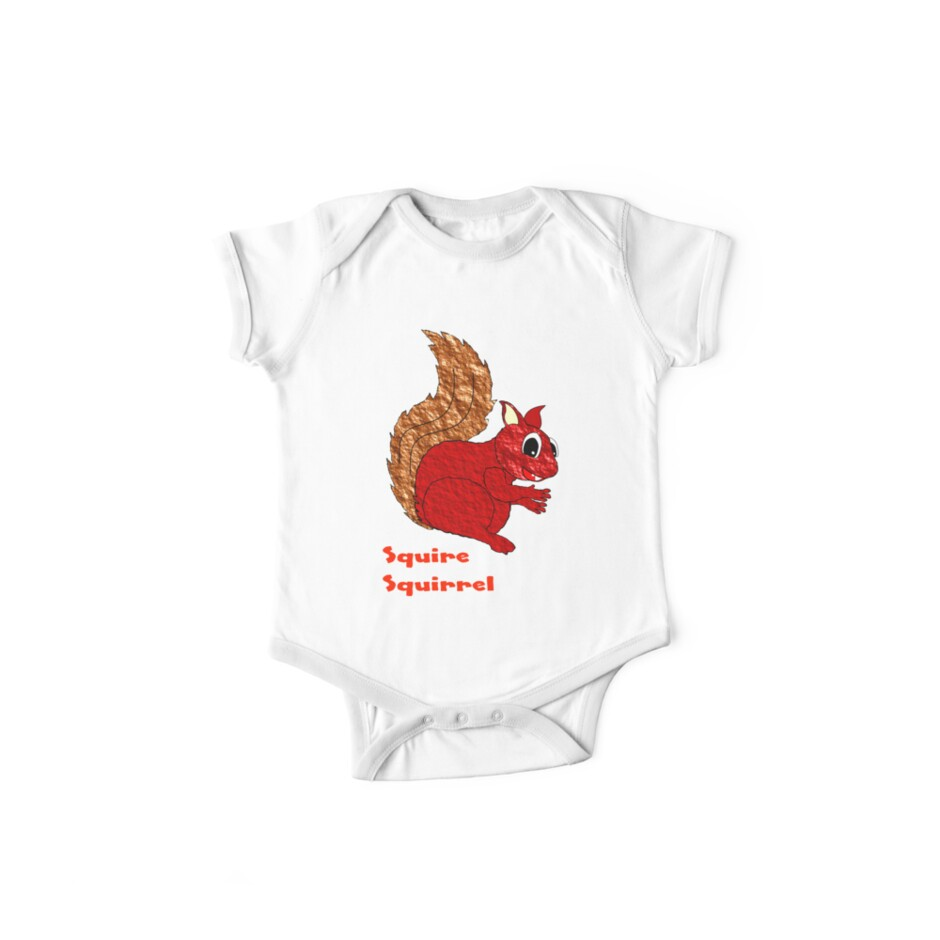 Squire Squirrel T-shirt design by Dennis Melling