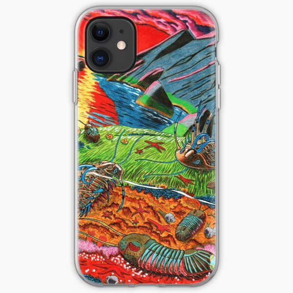 Trilobites at Dusk iPhone Soft Case