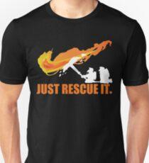 Just rescue it T shirt Firefighter T shirt Unisex T-Shirt