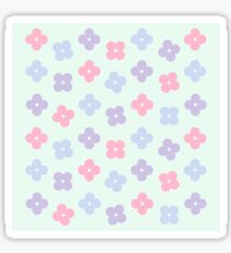 The Cute Floral Pattern  Sticker