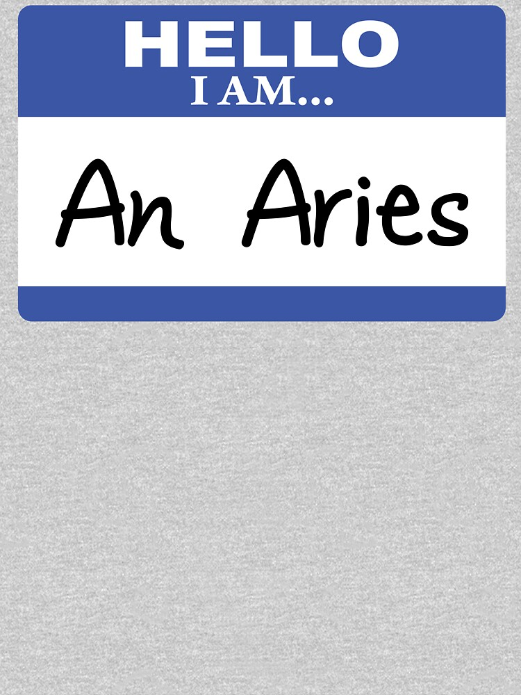 Hello I am an Aries by DarlaBuck