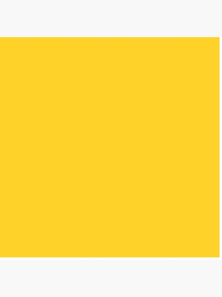 Yellow / Yellow (NCS) Solid Color by patternplaten