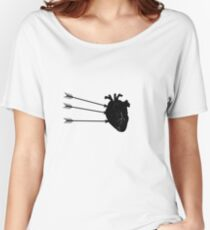 Three Arrows to the heart Women's Relaxed Fit T-Shirt
