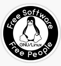 GNU/Linux Sticker