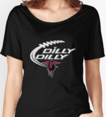 Dilly Dilly Texas Tech Red Raiders Shirt Women's Relaxed Fit T-Shirt