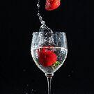 Strawberry Splash 2 by Tracy Friesen