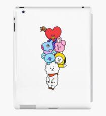 BT21 - Mang, Koya, RJ, Tata, Shooky, Cooky, Chimmy BTS fanart iPad Case/Skin