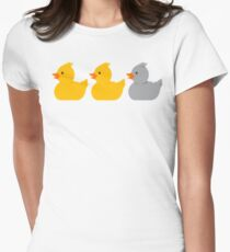 Grey Duck Women's Fitted T-Shirt