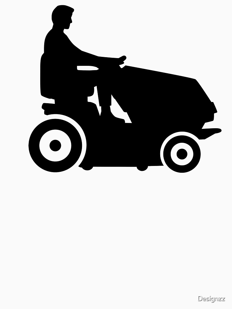 Lawn mower driver by Designzz