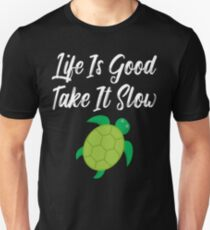 Life Is Good Take It Slow T-Shirt