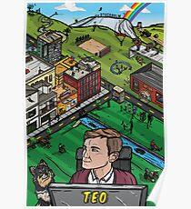 Póster El mundo de Teo - Poster