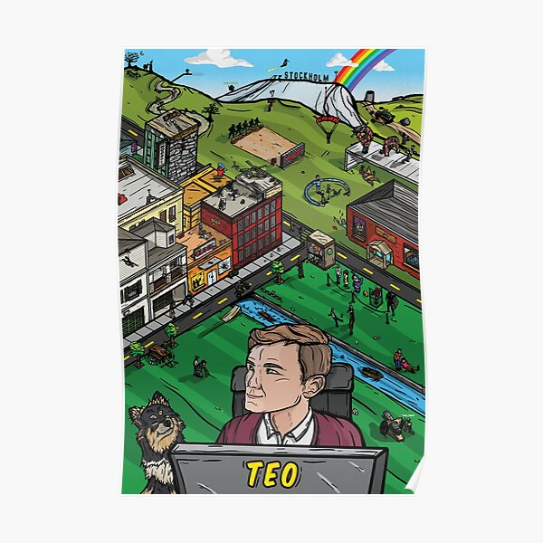 Teo's World - Poster Poster