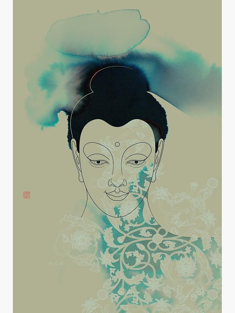 Blue Gautama Buddha by Thoth-Adan