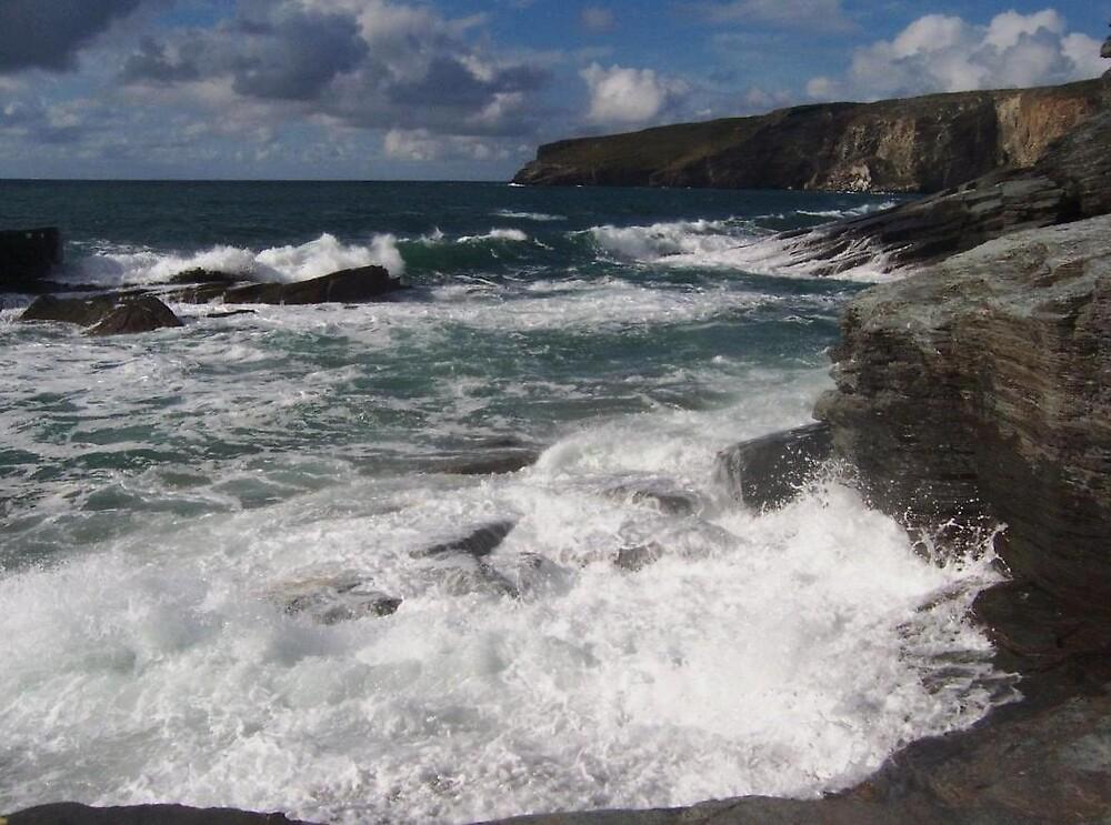 Rugged Cornwall  by kimie