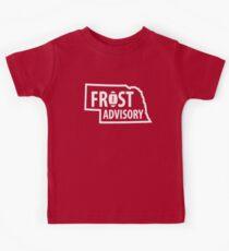 Frost Advisory Nebraska Kids Tee