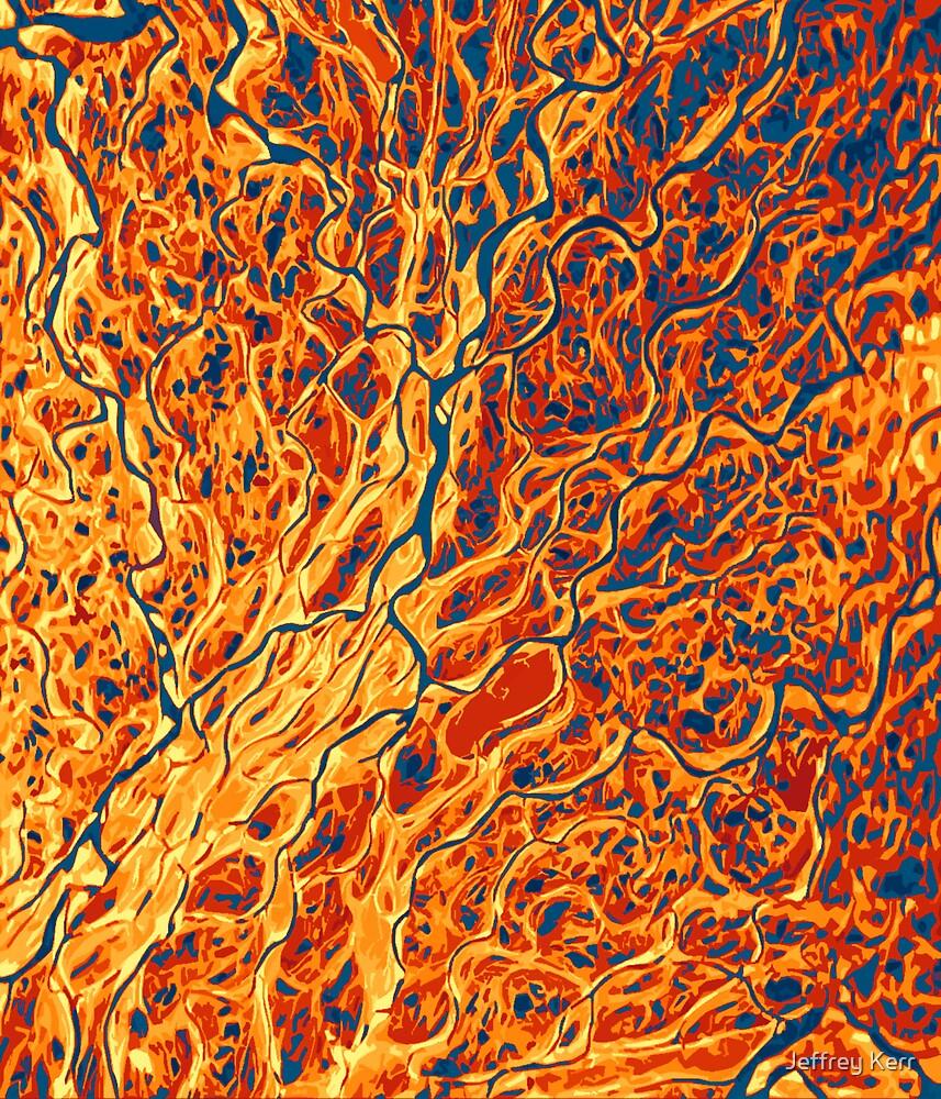 73d9N 127d9E – The Lena River Delta by Jeffrey Kerr