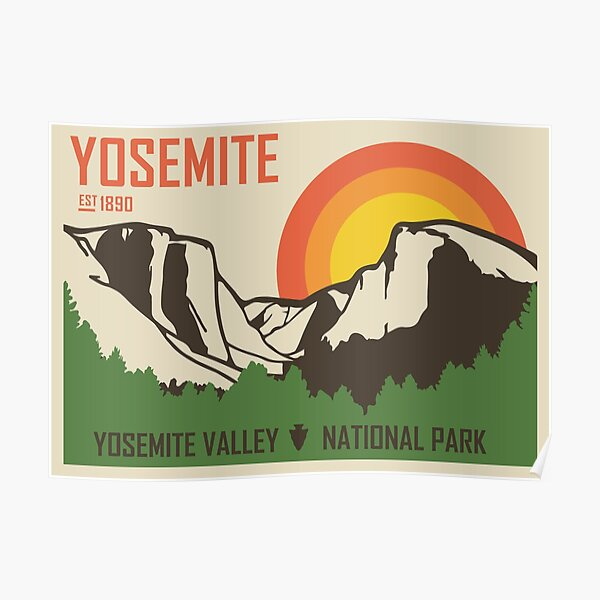 National Parks Posters Redbubble