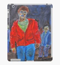 Watercolour zombies iPad Case/Skin