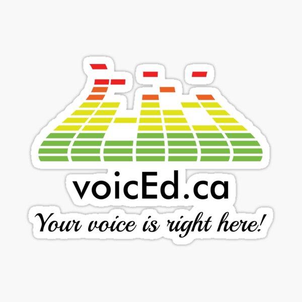 VoicEd Radio Sticker