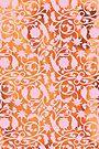 Pink Lotus Pattern by Thoth Adan