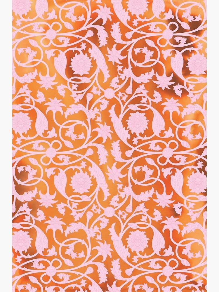 Pink Lotus Pattern by Thoth-Adan