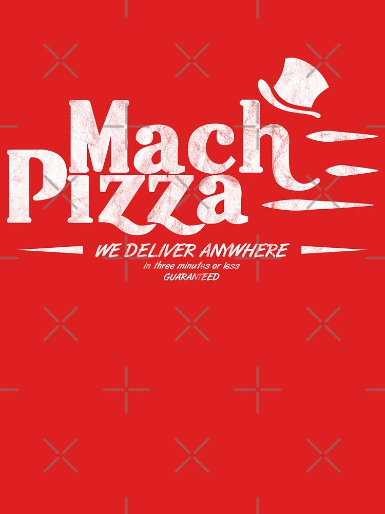 Mach Pizza (Earthbound) by CruceJ