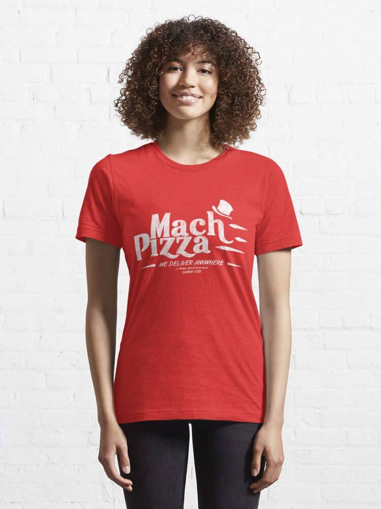 Alternate view of Mach Pizza (Earthbound) Essential T-Shirt