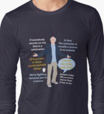 Larry David quotes Long Sleeve T-Shirt