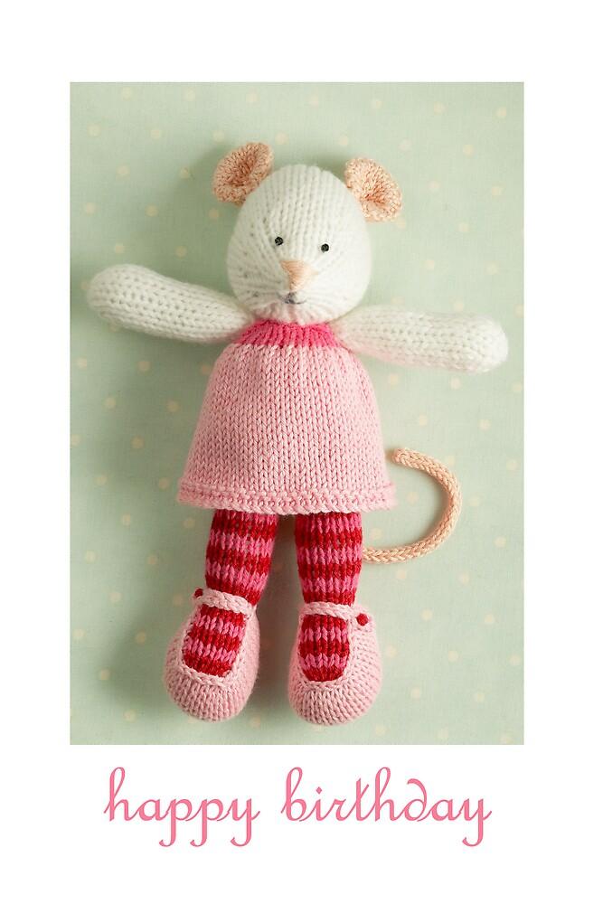 mary margaret birthday by bunnyknitter