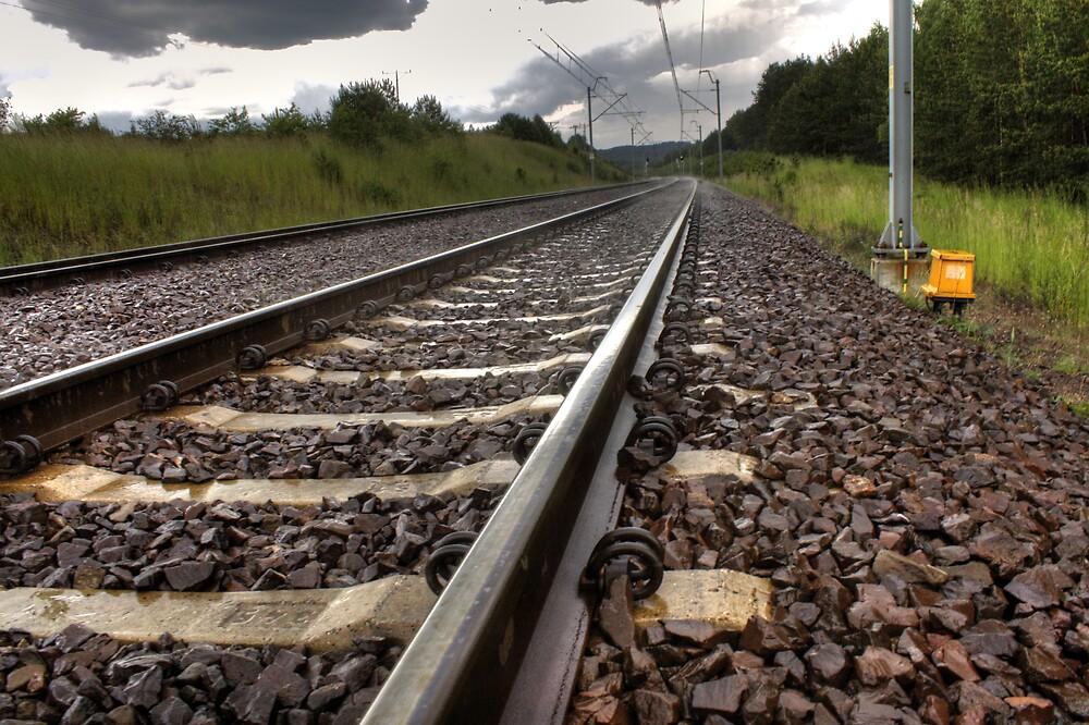 I'm on the railway wave by Gaz Gazmajster