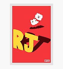 BT21 RJ Photographic Print