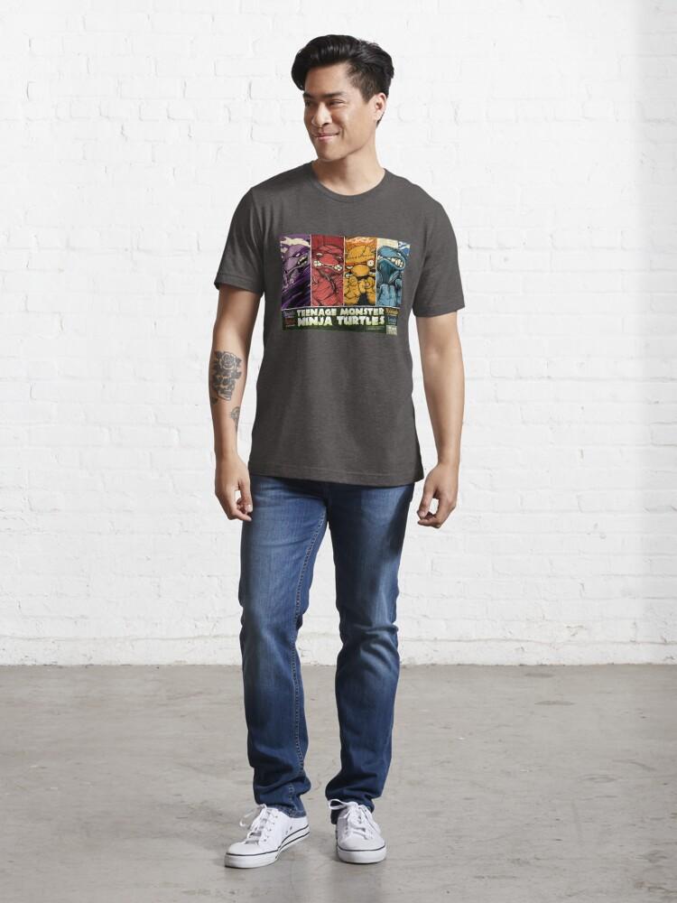 Alternate view of Teenage Monster Ninja Turtles Essential T-Shirt