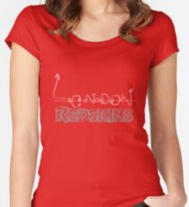 London Redskins Women's Fitted Scoop T-Shirt