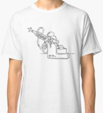 Rotary Evaporator (India Ink) Classic T-Shirt
