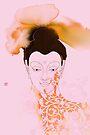 Pink Gautama Buddha by Thoth Adan